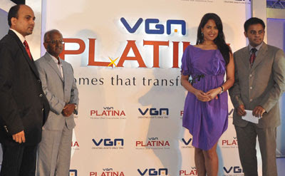 Sameera Reddy inaugurates VGN Developers Pvt. Ltd project Platina
