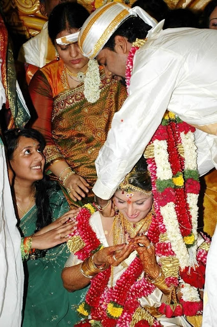 Rambha weds Indra Kumar marriage Stills