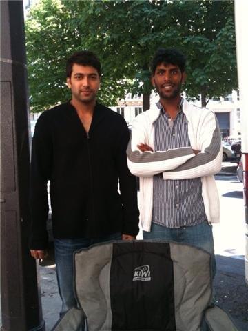 Ich Movie On Location Crew Stills-Jayam Ravi