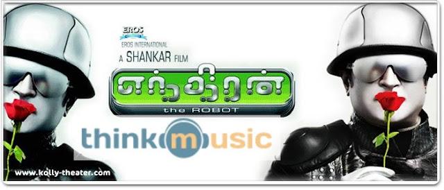 Sathyam Cinemas -Think Music bags Endhiran audio rights