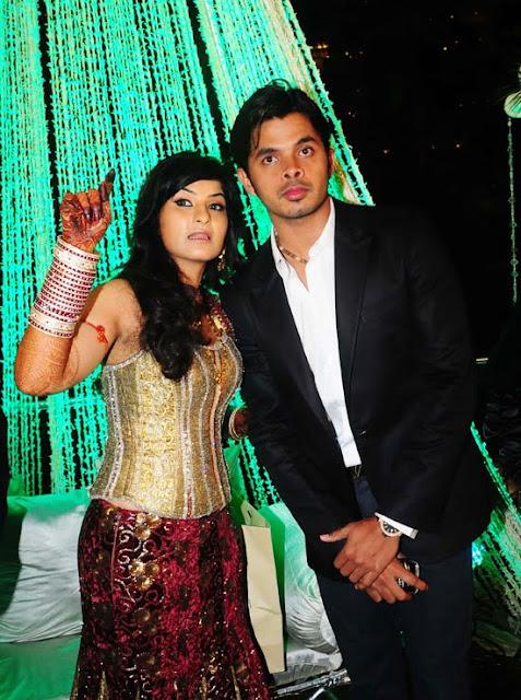Sreeshanth-Prakash Raj Pony Verma Wedding Reception Stills