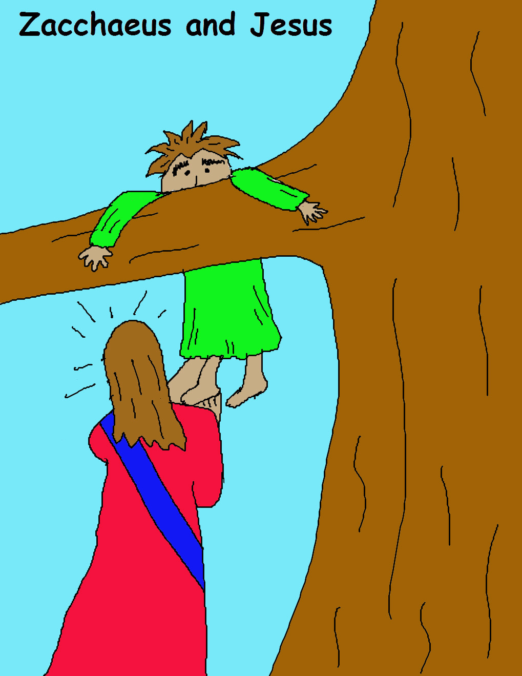 clipart jesus and zacchaeus - photo #3