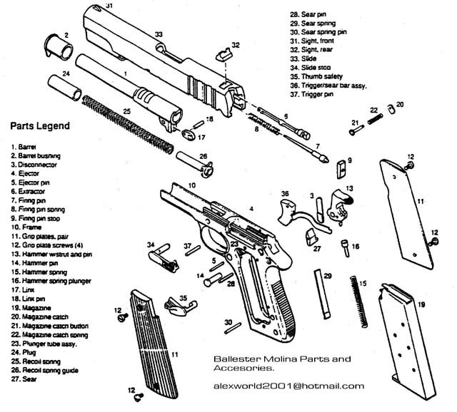 Nomad 34879 in addition Showthread as well Model 552 Sid80 together with Ruger Mark Iii Exploded View additionally Ar 15 Exploded Diagram. on colt model 80 parts breakdown