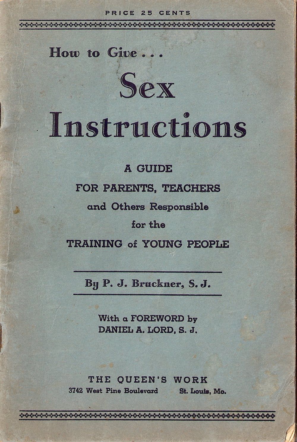 Instructions for sex