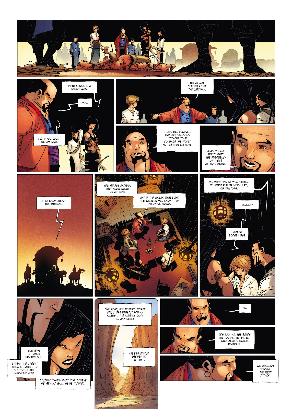 Read online Chronicles of the Dragon Knights comic -  Issue #19 - 28