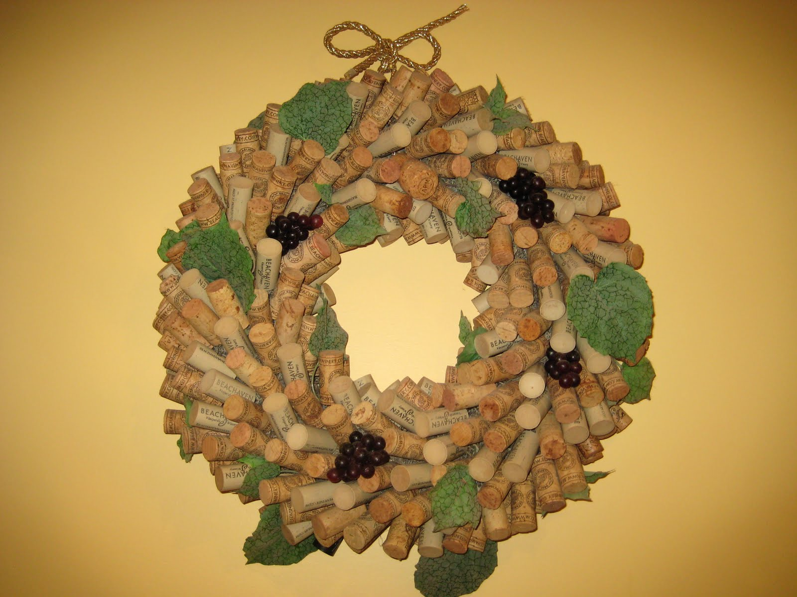 Ferrellgraph-x: Wine Cork Wreath