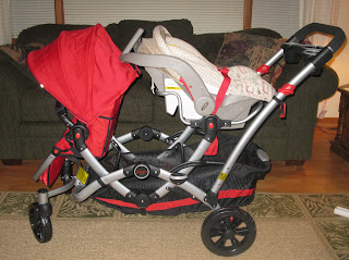 Kolcraft Contours Options Tandem Double Stroller Review