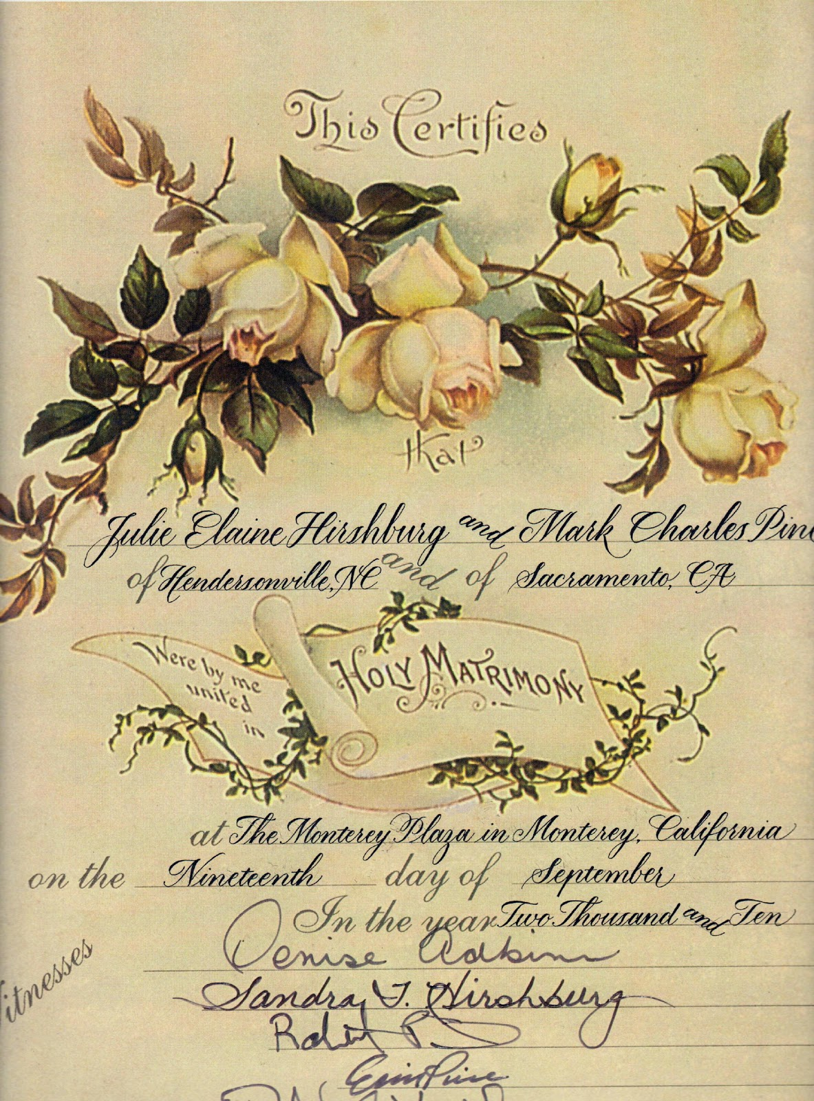 historic wedding certificate wedding certificate I first meet the client and she presented me with a certificate that was 8 10