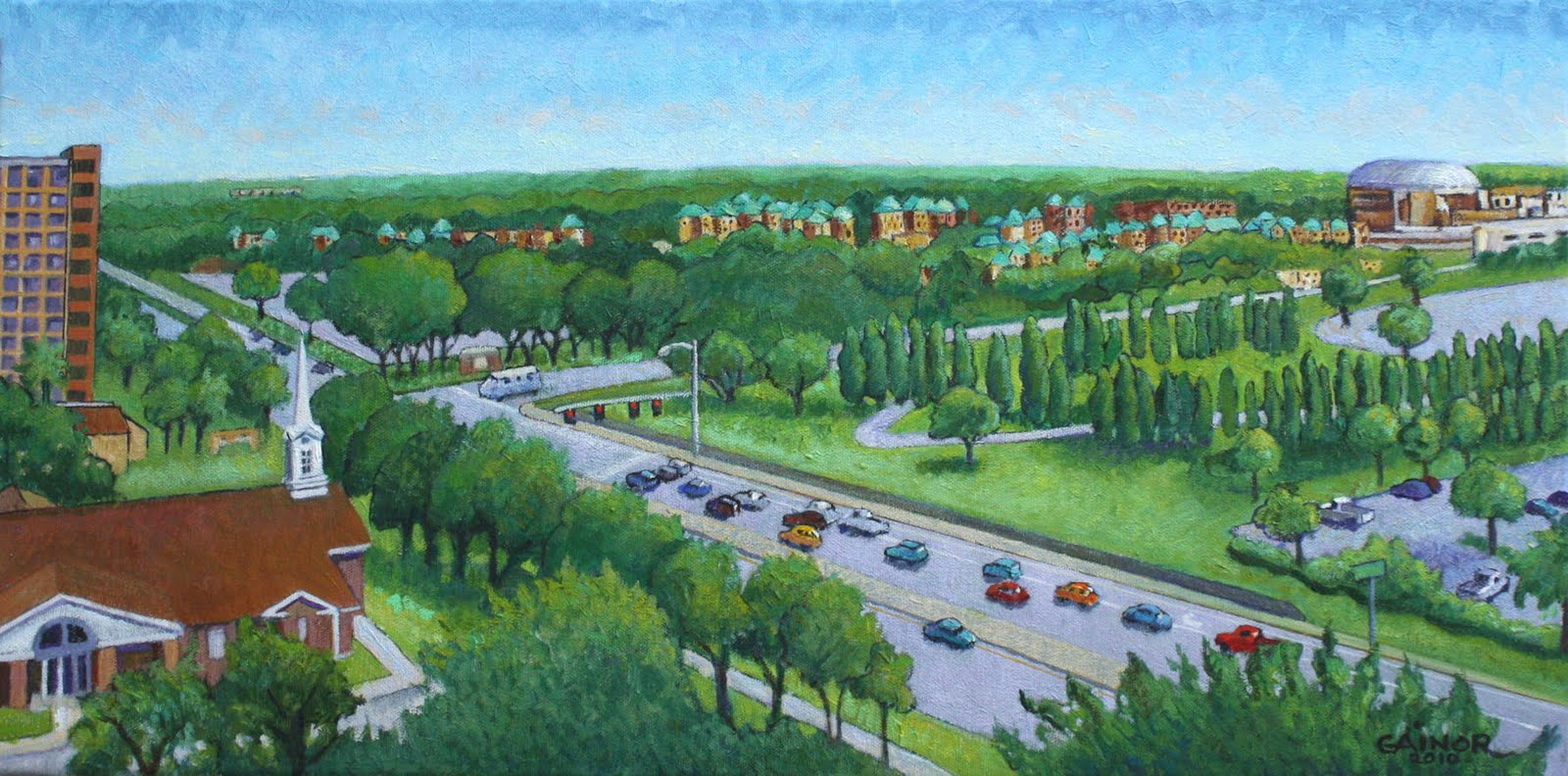 Oil Painting In And Around Zephyrhills Florida