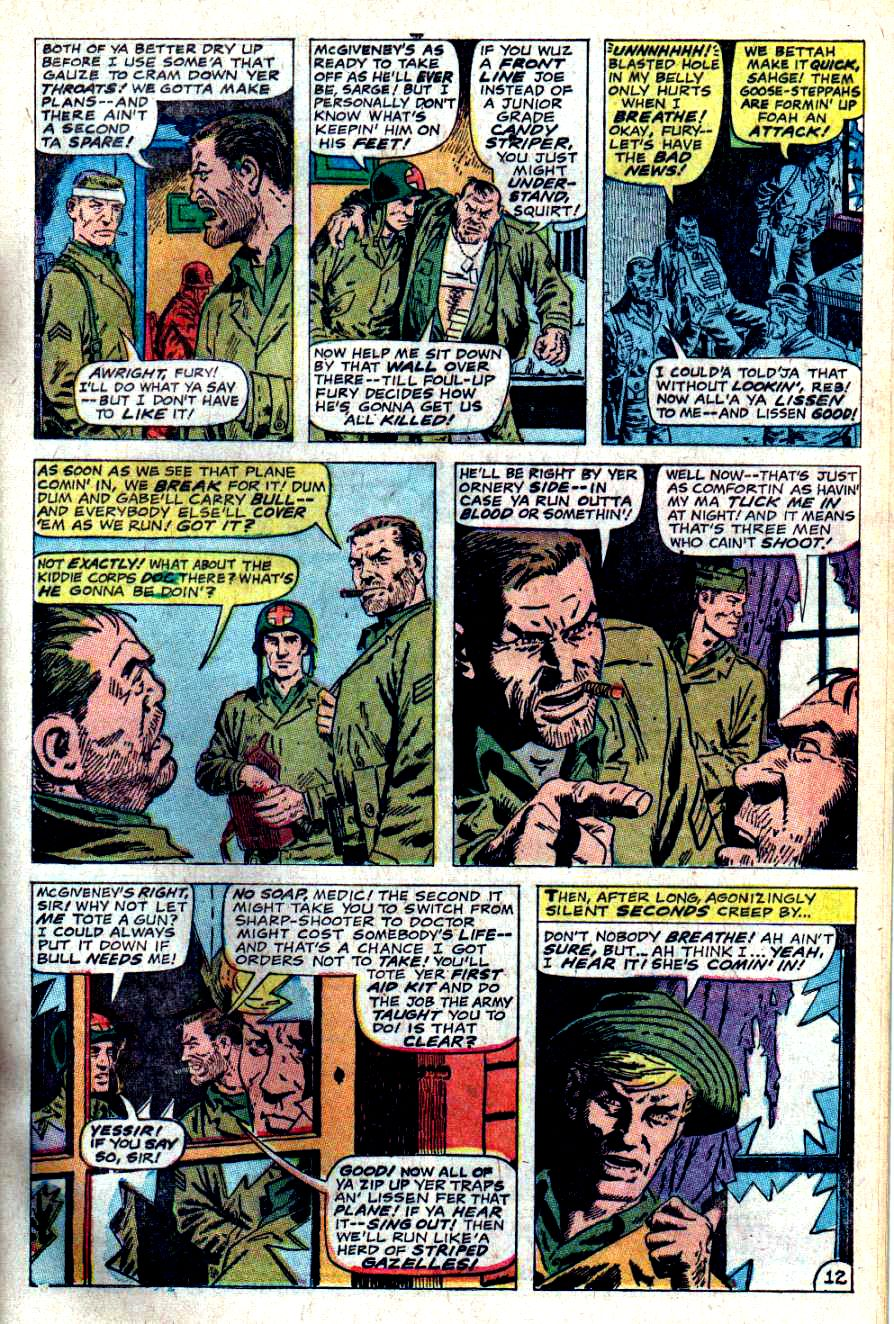 Read online Sgt. Fury comic -  Issue #46 - 17