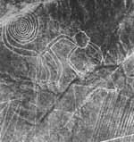ما زالت تلك الرسوم في هذه الصورة الملتقطة عبر الأقمار الصناعية تثير الكثير من التساؤلات حول كيفية تشكيلها