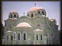 الكنيسة الارثوذكسية القبطية في حي الزيتون والتي ظهر فيها تجسد للسيدة العذراء حسب ما يزعم.