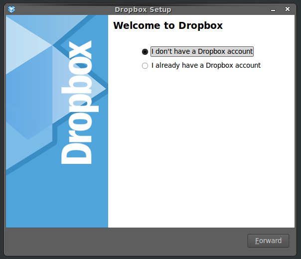 How to use Dropbox Online Backup Software in Ubuntu Linux