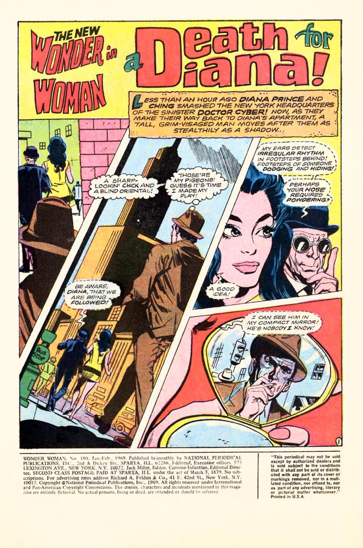 Read online Wonder Woman (1942) comic -  Issue #180 - 3