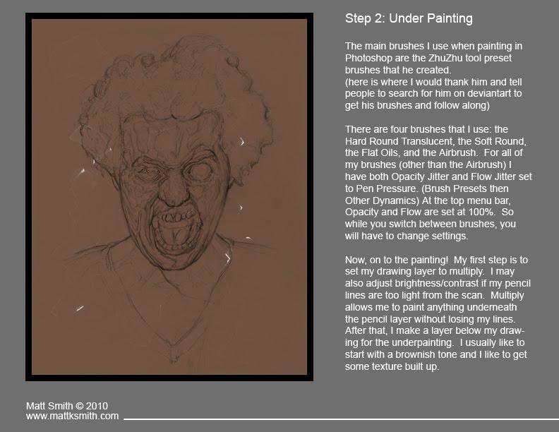 Matt's Art Blog: Digital Painting Tutorial