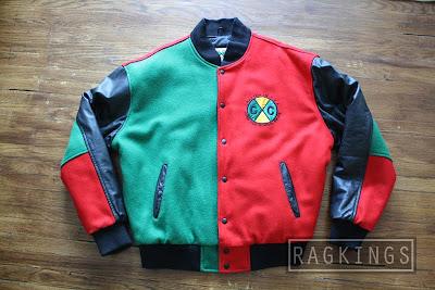 Rag Kings Early 90 S Cross Colours Jacket
