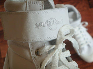 spring court(スプリングコート)G1 RANGER WHITE FOX WHITE ベルクロ