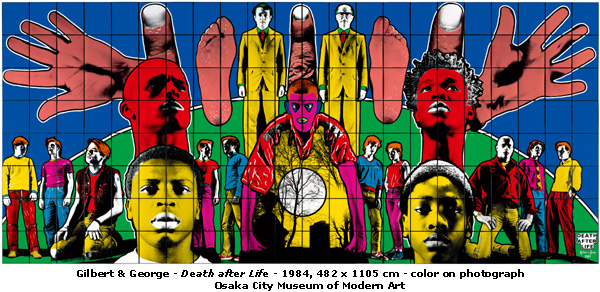 Gilbert And George: Heart Made Of Sound: GILBERT AND GEORGE COLOUR MY WORLD