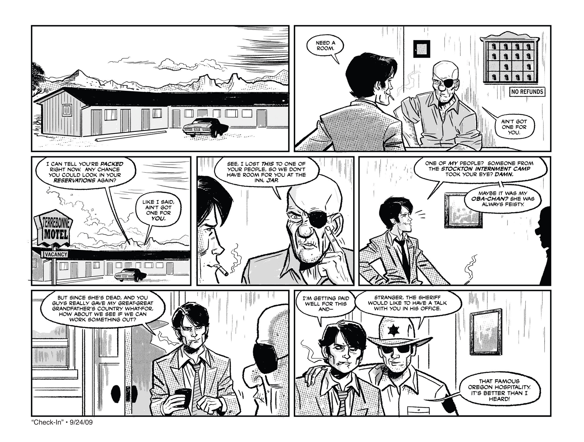 Read online She Died In Terrebonne comic -  Issue #1 - 12