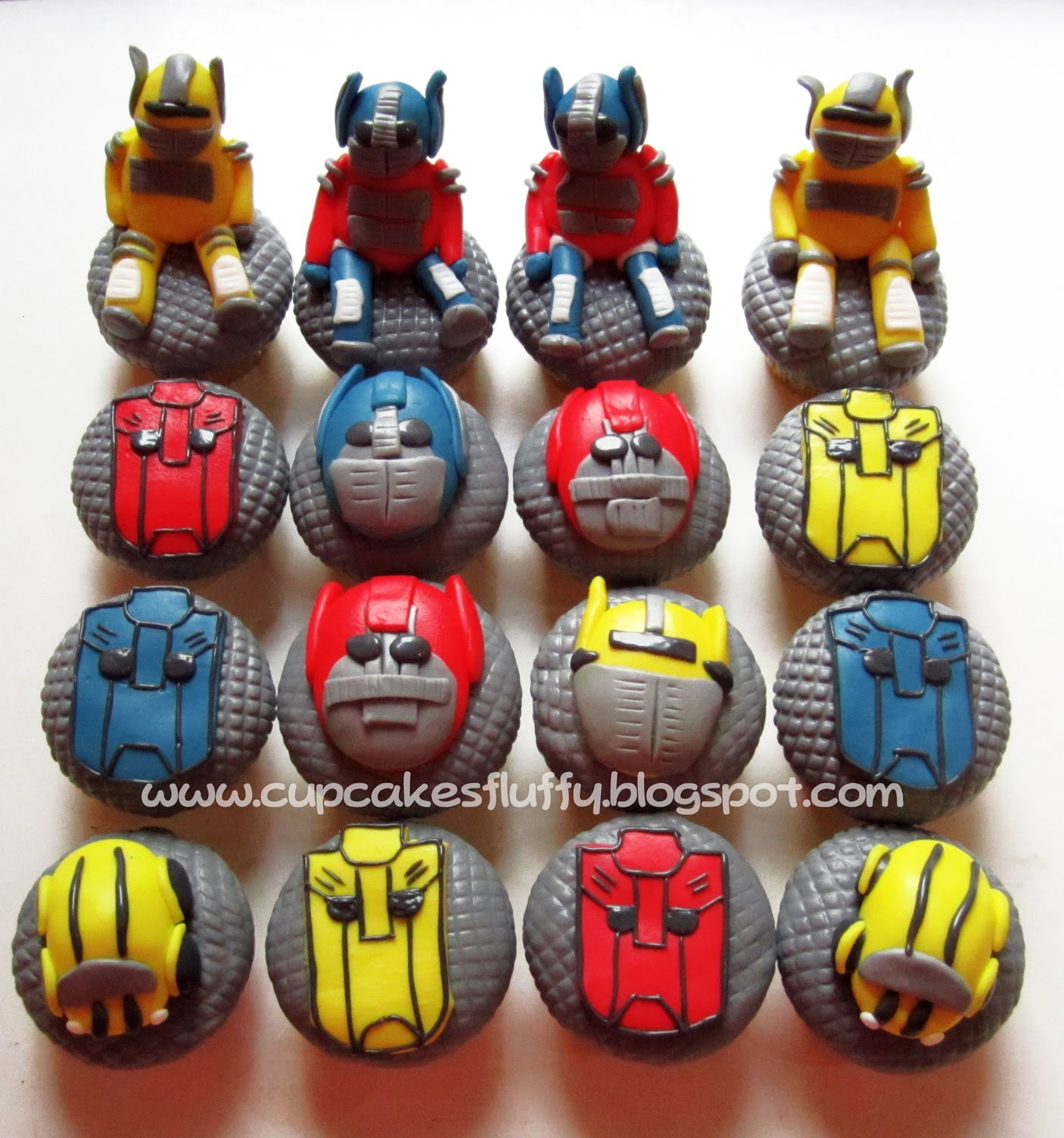 Transformers Cupcakes Ideas Cake Ideas And Designs