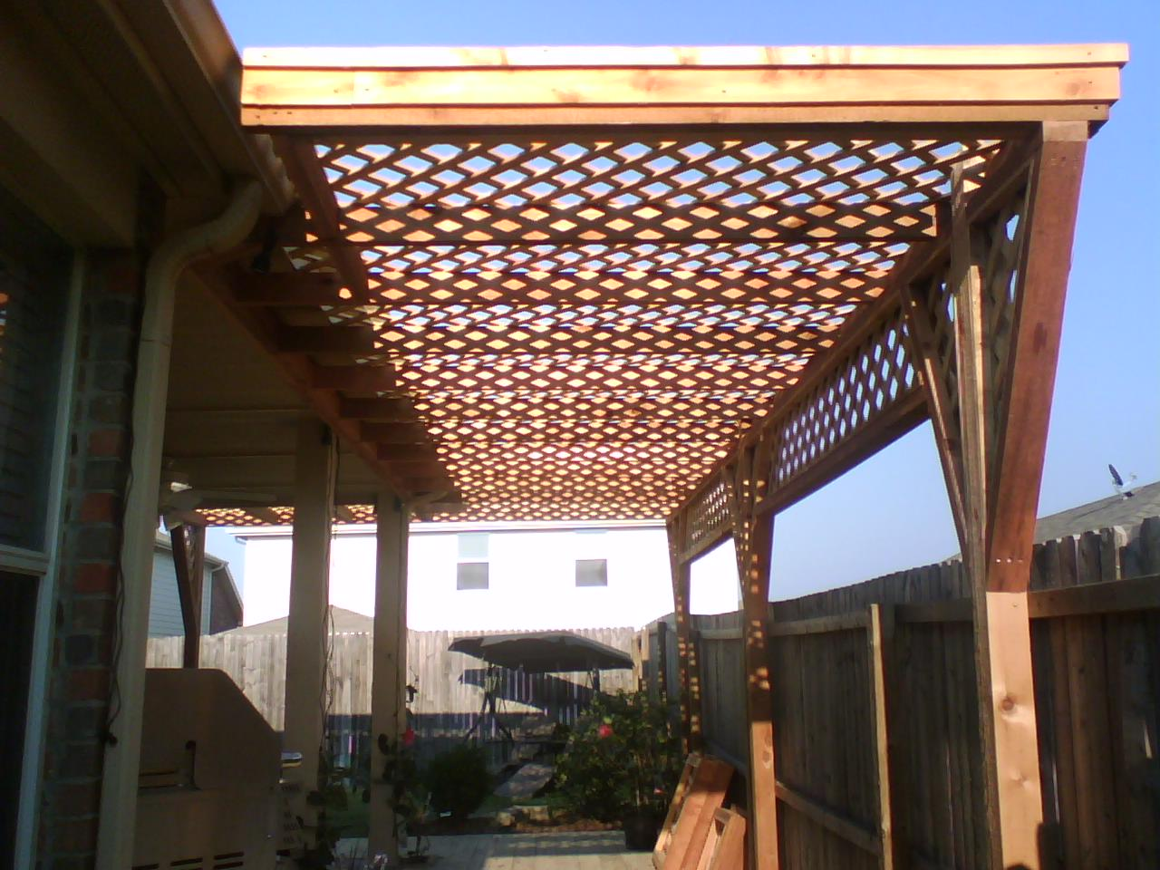 Dreamhaus53 Pergola Arbor Lattices