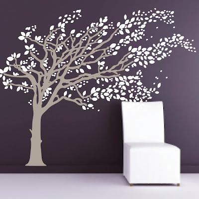 Janey Mac Vinyl Tree Wall Decals