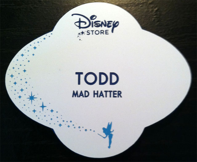 Store Tags: Disney Nametags And More: The Disney Store