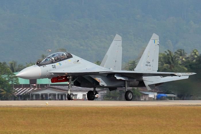 Sukhoi Su-30MKM Flanker TUDM
