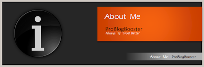 About Me ProBlogBooster