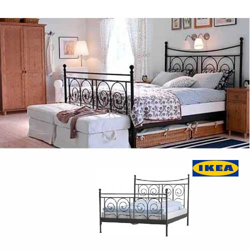 Ikea Noresund Bett 140x200 Zuhause