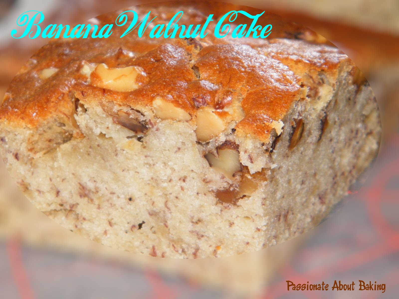 Banana Walnut Cake Recipe Joy Of Baking