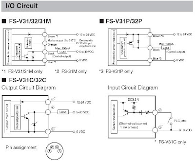 double schematic electrical wiring diagrams fs r9b wiring diagrams optical sensors for beginners: keyence fs-v31 (fs-v30 ...