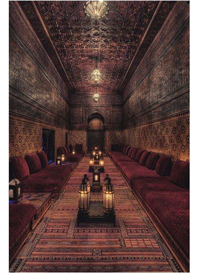 Real life is elsewhere serge lutens 39 moroccan hideaway - Living room hookah lounge la jolla ...