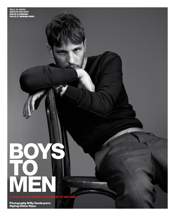 real life is elsewhere: boys to men