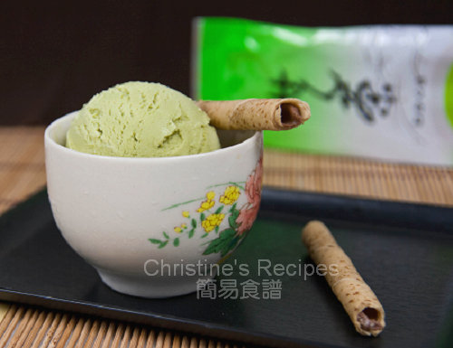 綠茶雪糕 Green Tea Ice Cream01