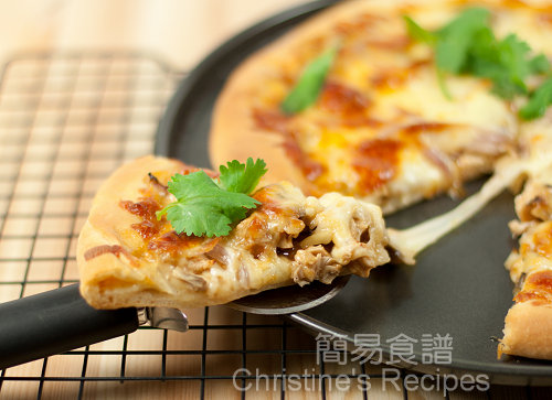 BBQ Chicken Pizza02