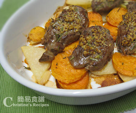 焗羊扒番薯 Baked Lamb Steaks with Sweet Potatoes02
