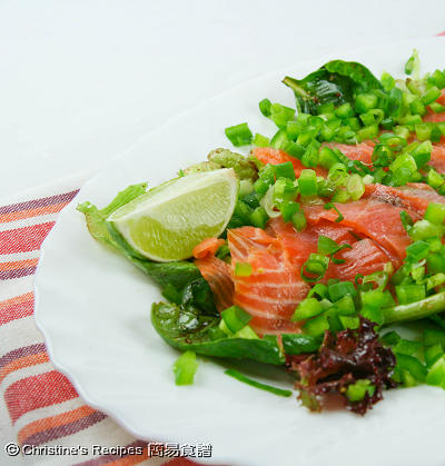 煙三文魚沙律 Smoked Salmon Salad02