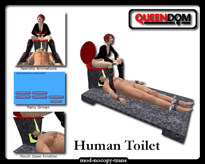 human toilet unwilling