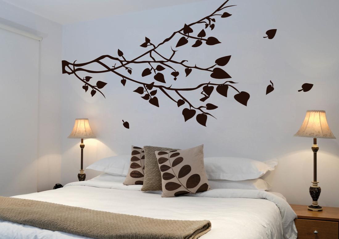 Decoflow algunos de los trabajos realizados un peque o - Decoracion de paredes de dormitorios ...