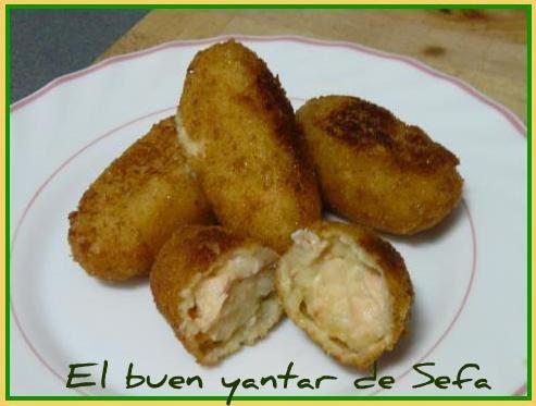 El Buen Yantar De Sefa Croquetas De Patata Y Salmón