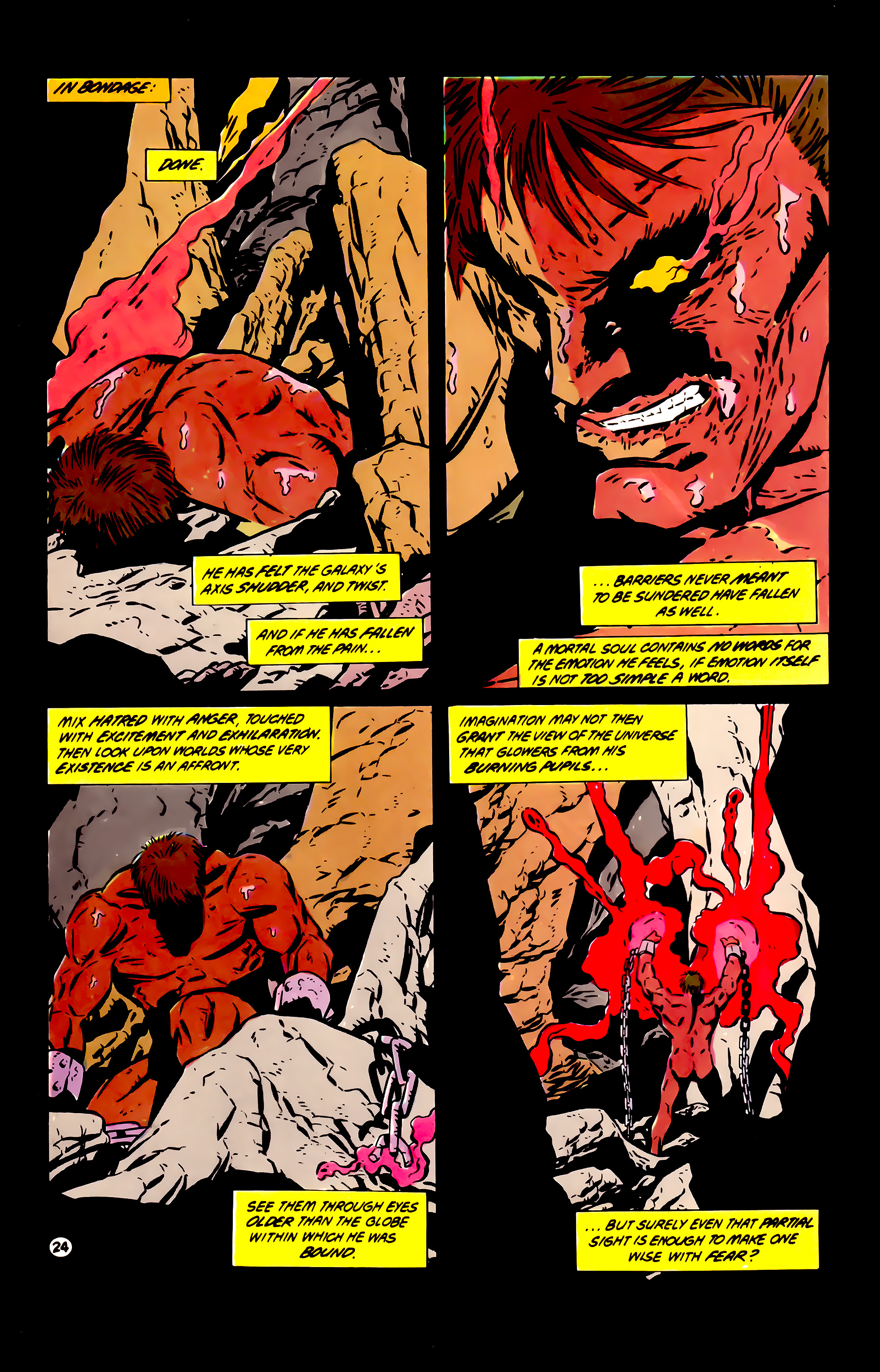 Legion of Super-Heroes (1984) 60 Page 24