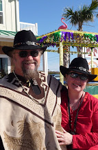 Big Will & Mary Ann - Port Aransas, Texas,  Mardis Gras Day, February 2010