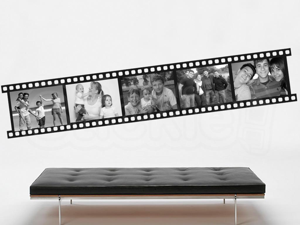 stickie adhesivos decorativos de vinilo stickie cine y m sica. Black Bedroom Furniture Sets. Home Design Ideas