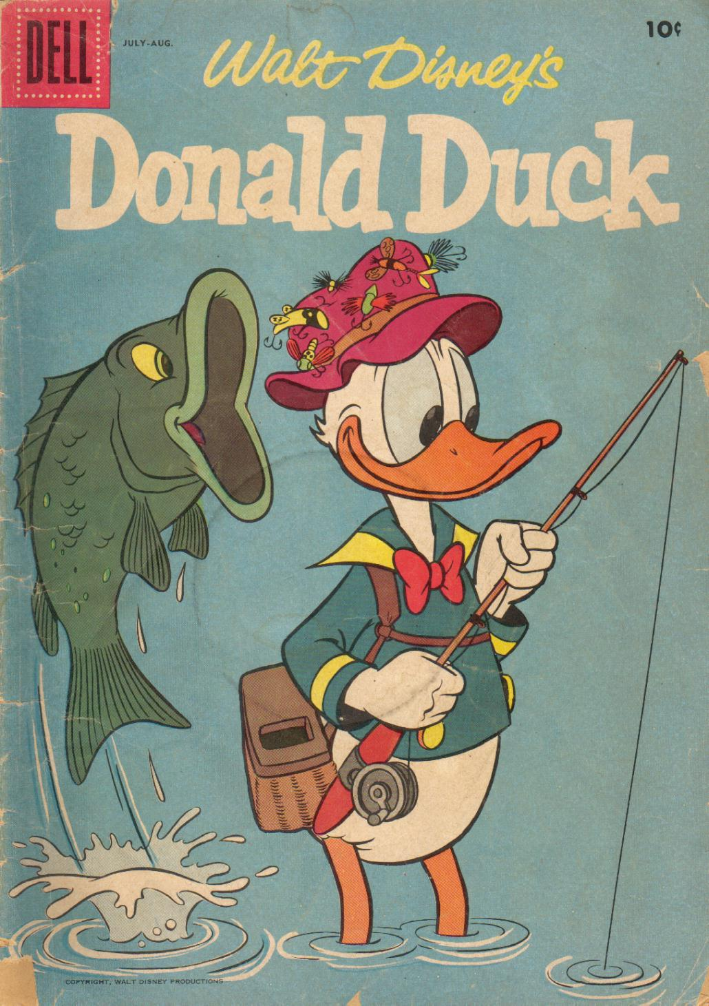 Walt Disney's Donald Duck (1952) issue 54 - Page 1
