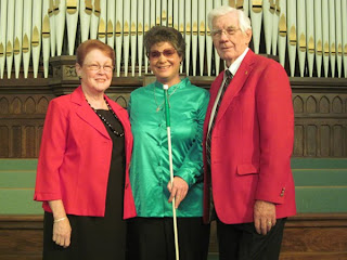 Laurel Jean with Rev. Tarrell Thompson and mutual friend, Anna Lee