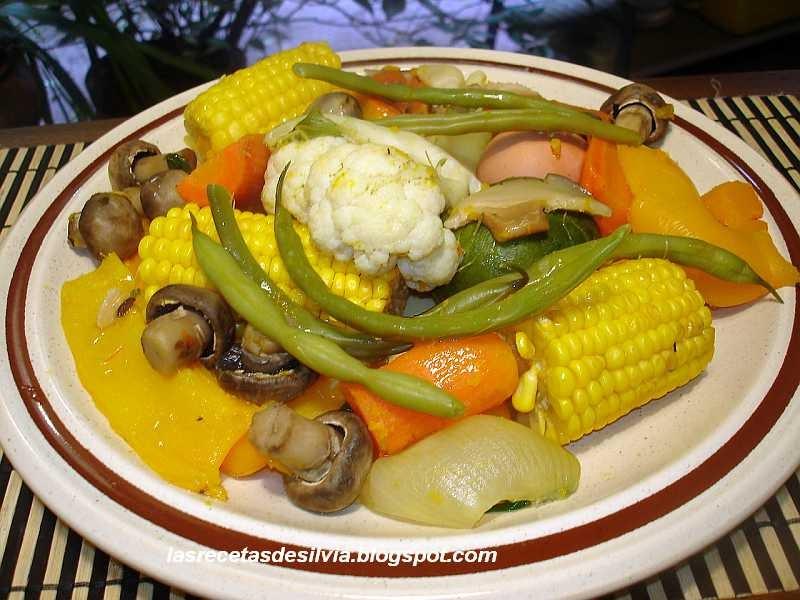 Las recetas de Silvia Menestra de Verduras para la cena