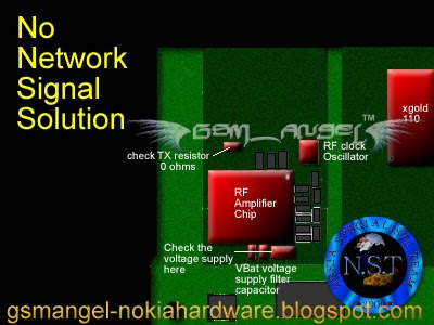 Free Mobile Phone Repairing Solutions: nokia 1800 No network signal