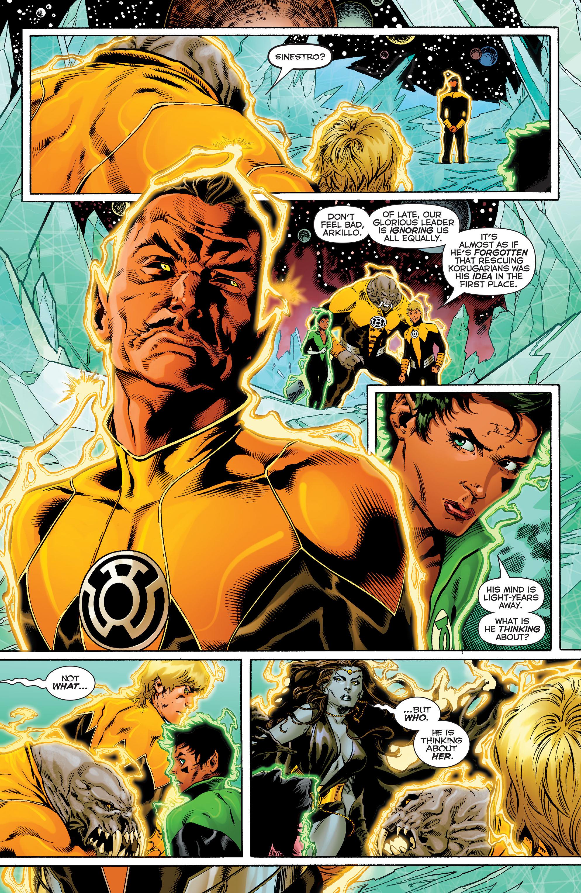Read online Sinestro comic -  Issue #9 - 6