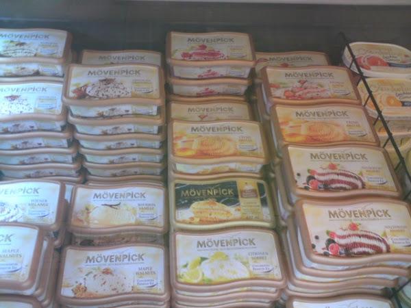 glutenfreies Eis von Mövenpick & Schöller
